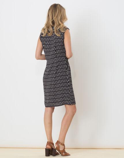 Boubou ethnic print dress (4) - 1-2-3