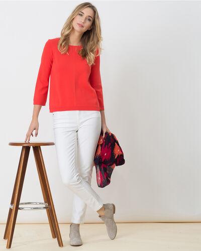 Hipster orangey sweater (2) - 1-2-3