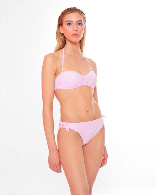 Jen lilac bandeau bikini top (1) - 1-2-3