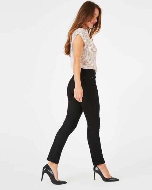 Oliver 7/8th length black jeans (2) - 1-2-3