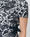 Floriane blue printed dress (4) - 1-2-3