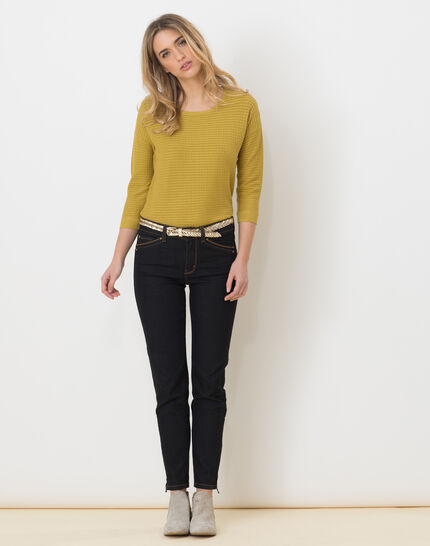Hélice pistachio green sweater with long sleeves (2) - 1-2-3