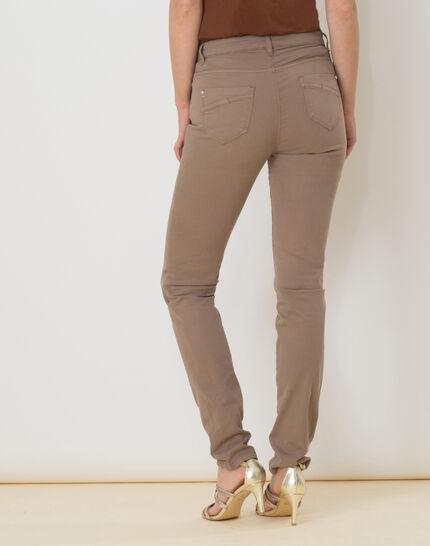 William taupe satin trousers (4) - 1-2-3