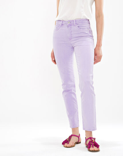 Oliver lilac cropped trousers (6) - 1-2-3