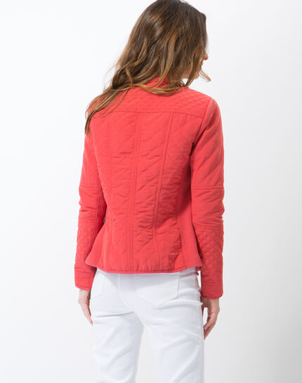 Olympe raspberry quilted parka (4) - 1-2-3