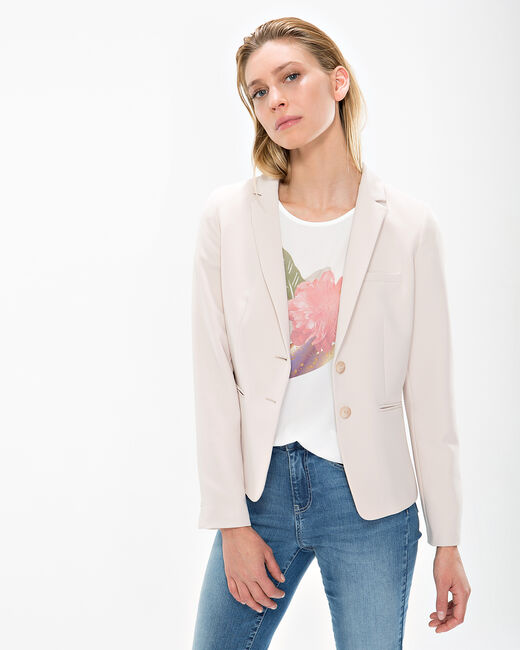 Eve beige fitted jacket (2) - 1-2-3