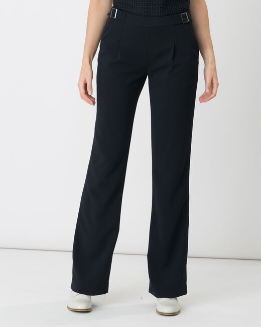 Pantalon bleu marine boucle à la taille Rythme (1) - 1-2-3