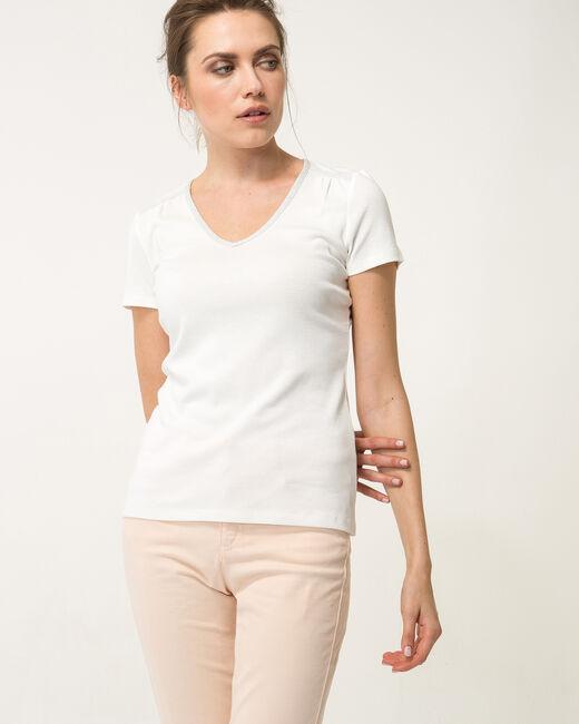 Tee-shirt écru Largo (2) - 1-2-3