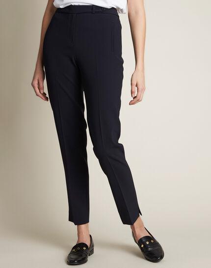 Lara blue tailored trousers PhotoZ | 1-2-3