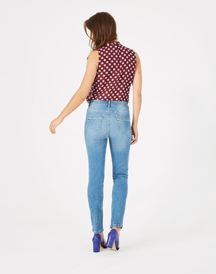 Oliver 7/8 length bleached jeans (5) - 1-2-3