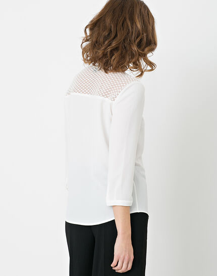 Edita ecru shirt with lace (3) - 1-2-3