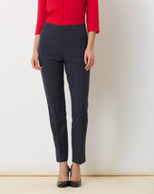 Rivage navy blue tailored trousers navy.