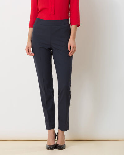 Pantalon de tailleur bleu marine Rivage (2) - 1-2-3