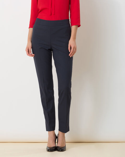 Rivage navy blue tailored trousers (2) - 1-2-3