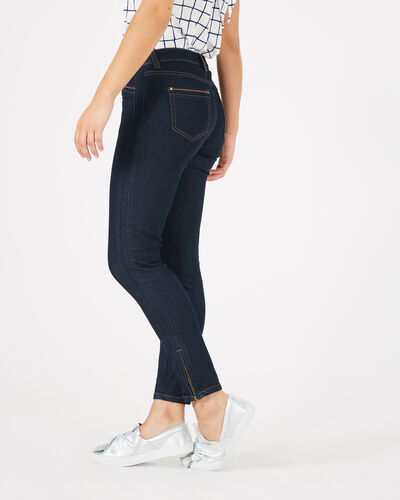 Pia raw-cut 7/8 length jeans (1) - 1-2-3