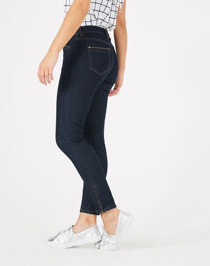 Pia raw-cut 7/8 length jeans PhotoZ   1-2-3