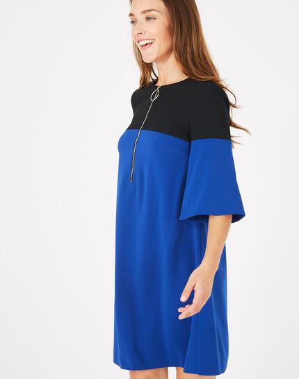Robe bicolore Alexia (3) - 1-2-3