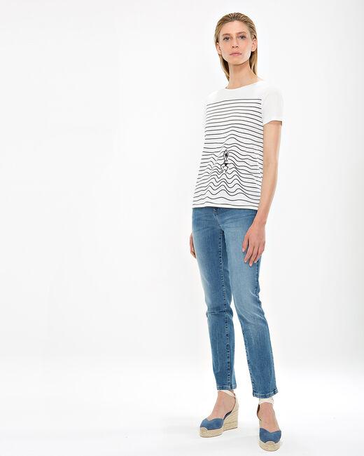Tee-shirt rayé Nageuse (1) - 1-2-3