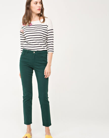 Oliver 7/8 length green trousers (2) - 1-2-3