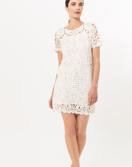 Bergamote cream lace dress (2) - 1-2-3