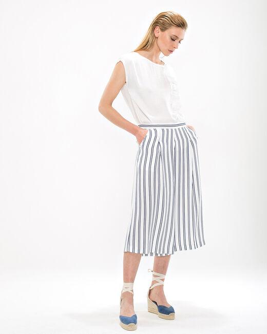 Dori striped culottes (2) - 1-2-3