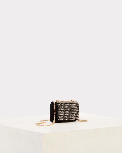 Rankal diamanté velvet clutch bag (2) - 1-2-3