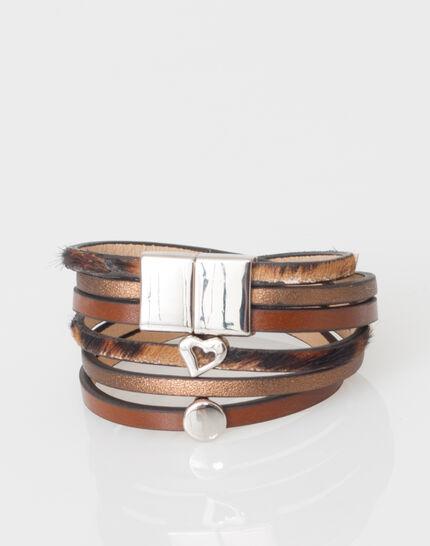 Willem bracelet with several bands (2) - 1-2-3