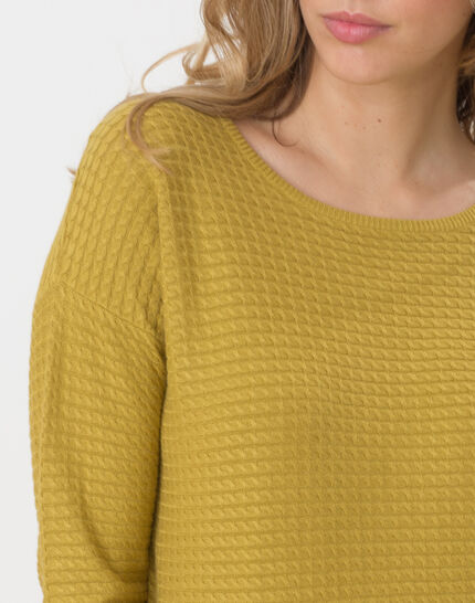 Hélice pistachio green sweater with long sleeves (5) - 1-2-3