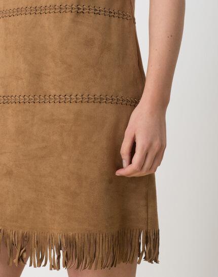 Boréal suede-style camel dress (3) - 1-2-3