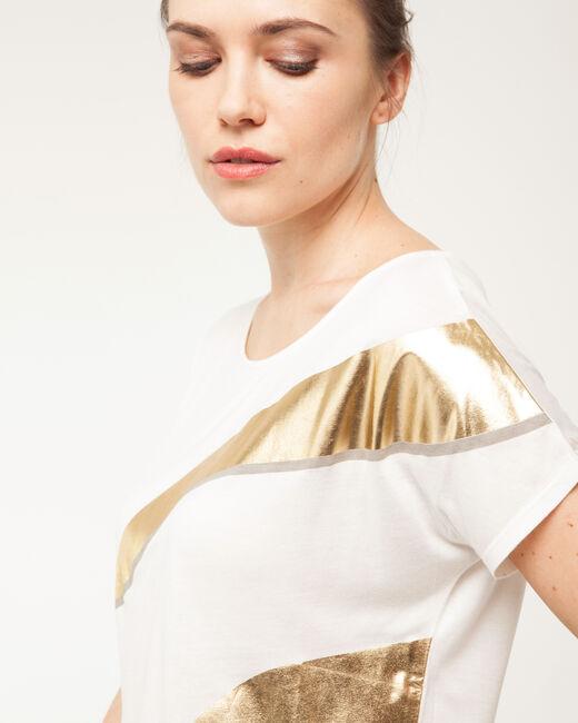 Tee-shirt imprimé brillant Nail (1) - 1-2-3