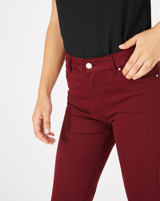 Pantalon slim bordeaux William (2) - 1-2-3