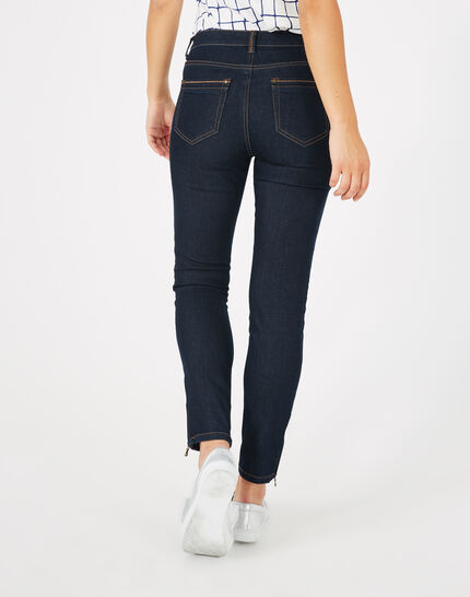 Pia raw-cut 7/8 length jeans (5) - 1-2-3