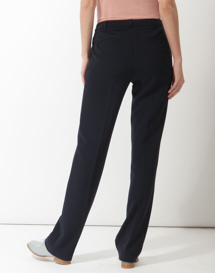 Natura tailored navy blue trousers (4) - 1-2-3