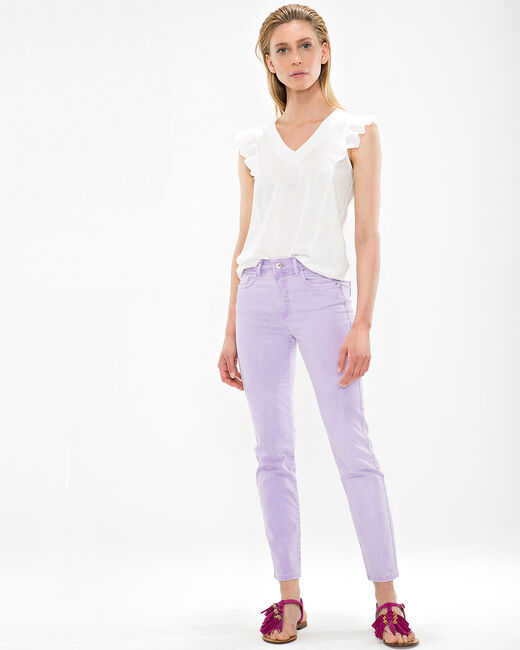 Oliver lilac cropped trousers (1) - 1-2-3