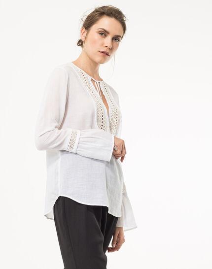 Eden ecru cotton blouse (5) - 1-2-3