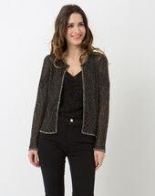 Katy black embroidered jacket black.