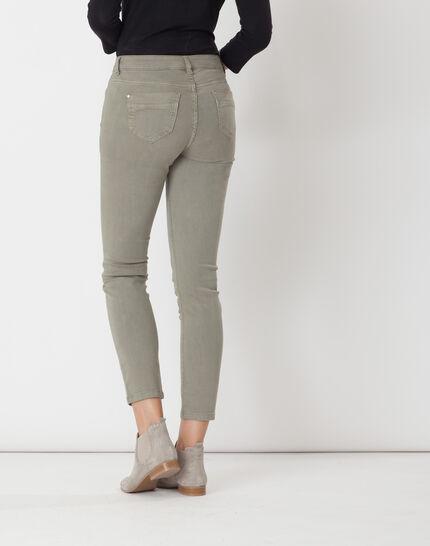 Oliver light khaki 7/8 length trousers (5) - 1-2-3