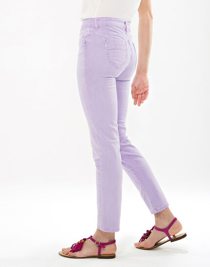 Oliver lilac cropped trousers (3) - 1-2-3