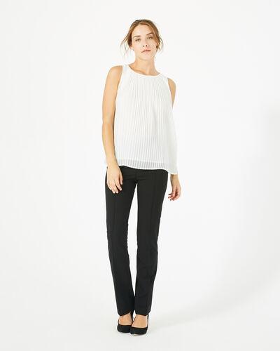 Top blanc plissé Erica (1) - 1-2-3