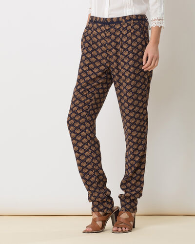 Domy flowing printed trousers (2) - 1-2-3