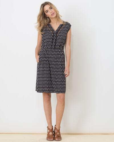 Boubou ethnic print dress (1) - 1-2-3