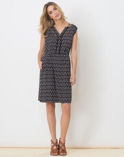 Boubou ethnic print dress (2) - 1-2-3