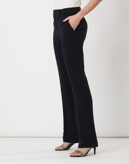 Super straight-cut black trousers (3) - 1-2-3