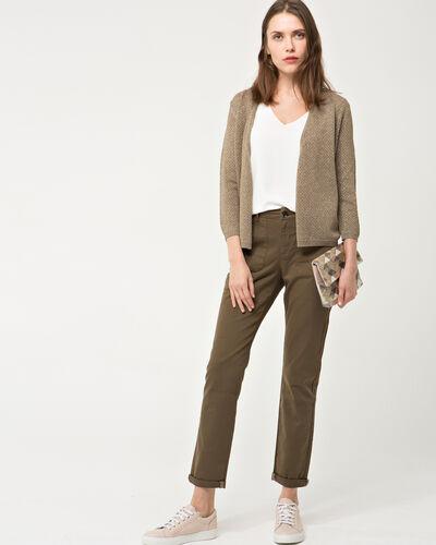 Holive khaki knit jacket (1) - 1-2-3