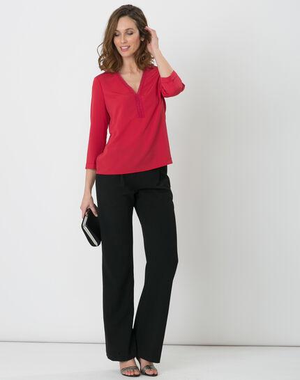 Eleonore raspberry shirt (2) - 1-2-3