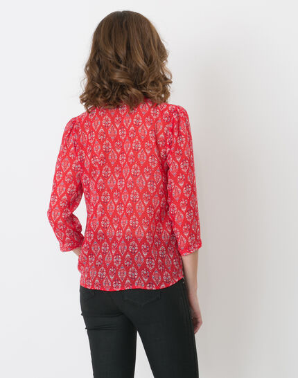 Erine raspberry printed shirt (4) - 1-2-3