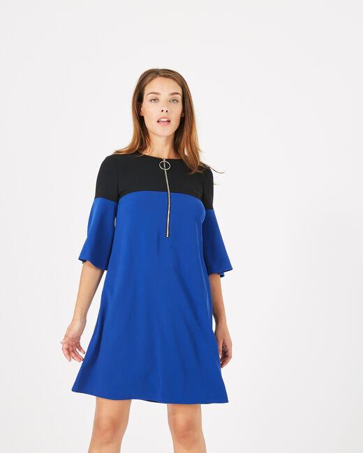 Zweifarbiges Kleid Alexia (2) - 1-2-3