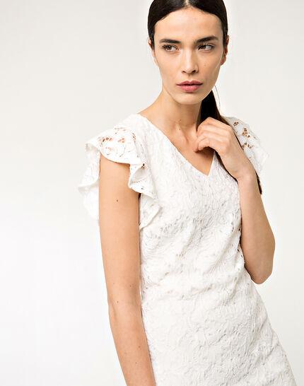 Faveur ecru guipure lace dress (4) - 1-2-3