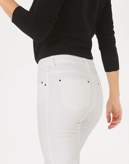 Oliver white 7/8 length trousers (4) - 1-2-3