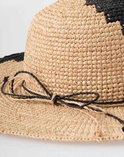 Johnny broad-brimmed straw hat (5) - 1-2-3